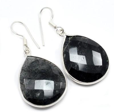 Silvesto India 1464 Quartz Sterling Silver Dangle Earring