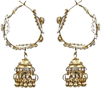 Foxy Elegant Alloy Jhumki Earring