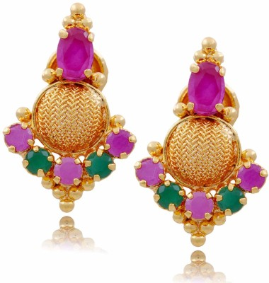 Jewbang Traditional Ethnic Style Alloy Stud Earring