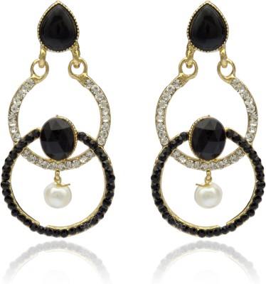 Veracious Jewellery crystal earring Brass Chandelier Earring