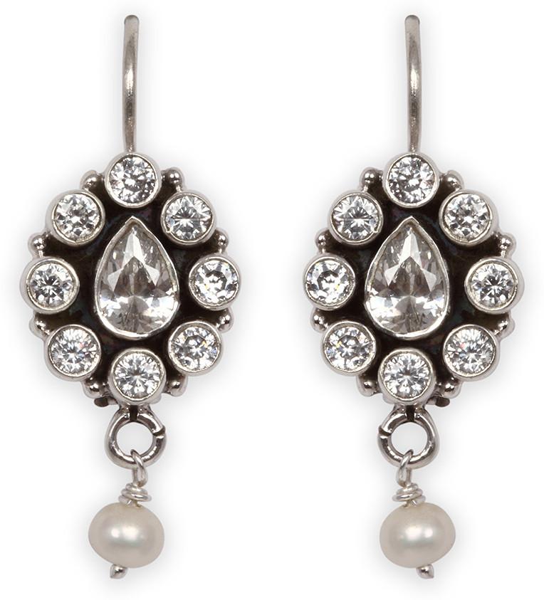 Deals - Delhi - Silver Earrings <br> Dazzle away<br> Category - jewellery<br> Business - Flipkart.com