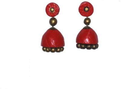 Aanya Creations Hanging Ceramic Jhumki Earring