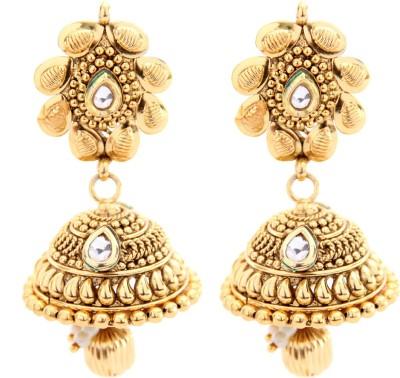Miracle Jewels Fashionable Jhumki Brass, Copper Jhumki Earring