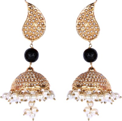 Rever Design Studio Spring Summer Alloy Jhumki Earring
