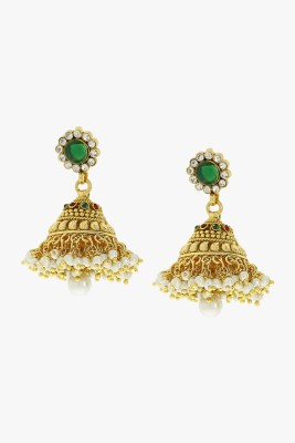 Sia Art Jewellery Jhumki Earring Alloy Jhumki Earring