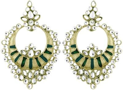 the jewelbox Traditional Copper Chandbali Earring