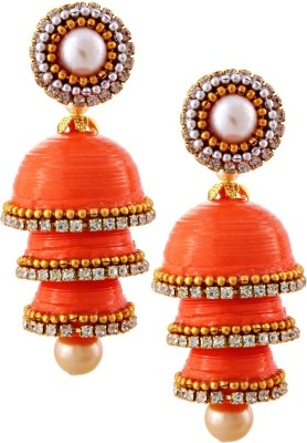 Halowishes EAR176 Paper Jhumki Earring