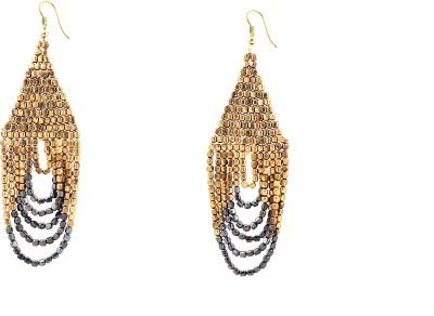 Zidox Copper spark Brass Dangle Earring