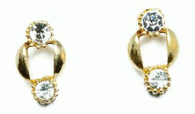 Kanishq 24K GOLD PLATED Alloy Stud Earring, Plug Earring