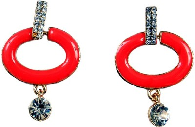 Uzuri Beautiful Copper Drop Earring