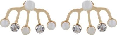 Fayon Contemporary Statement Different Style Crystal Alloy Cuff Earring