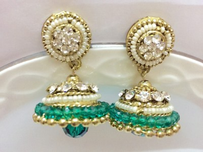 Creativity Xchange Traditional Ethnic Jhumka Metal Jhumki Earring