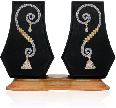 Aamoye Charming and Elegant Brass Cuff Earring at flipkart