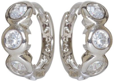 Subh Princees Delight Brass Huggie Earring