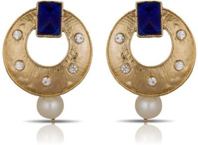 Luxor Blue Fashionable Alloy Drop Earring