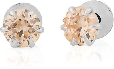 Gemshop CHARMING PAIR OF DECORATED WITH STONE Alloy Stud Earring