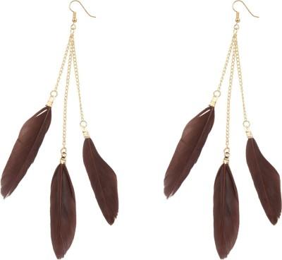 R18Jewels-Fashion&U Superstar Feather Metal Tassel Earring