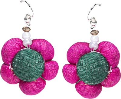 IDesign Eco Friendly Fabric Drop Earring