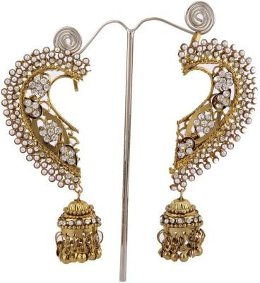 JDX Eleanor Brass Cuff Earring