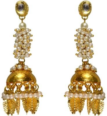 Rasaam Laria jhumki Beads Alloy Jhumki Earring