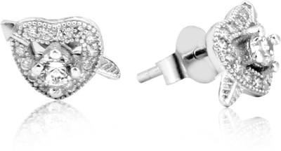 Jewel99 Alaric Swarovski Zirconia Sterling Silver Stud Earring