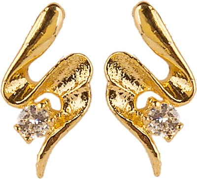6LOTUS CUTE Brass Huggie Earring