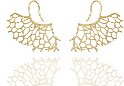 Chaahat Fashion Jewellery Gold Plated Copper Stud Earring