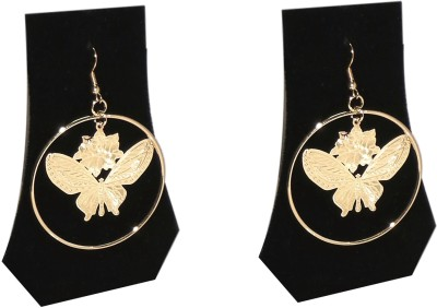 FashBlush Forever New Butterfly Dazzle Alloy Dangle Earring