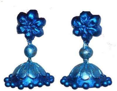 Aanya Creations Fashion Jewellery Ceramic Jhumki Earring