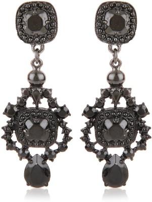 Moedbuille Black Drop Earrings [MBER00336] Cubic Zirconia Alloy Drop Earring
