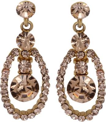 Maisha Champagne Modern Alloy Drop Earring