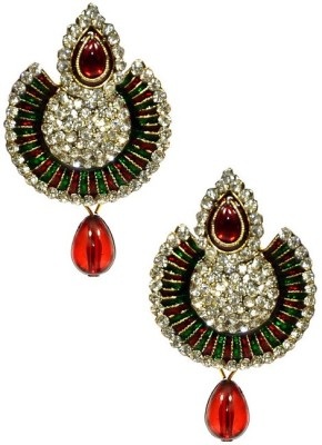 Shine My Life Rajwada Alloy Chandbali Earring