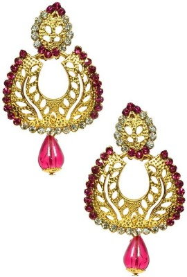 Shine My Life Catchy Alloy Chandbali Earring