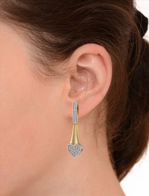 Zephyrr Alloy Dangle Earring