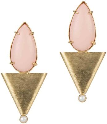 Mehtaphor Ruhi Brass Stud Earring