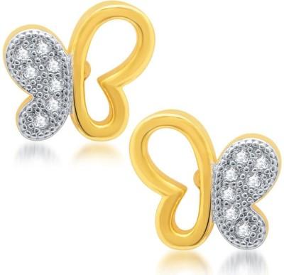 Sukkhi Pretty Micro Pave Cubic Zirconia Alloy Stud Earring