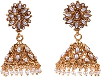 The Kewl Korner Fashion Earrings Metal Jhumki Earring