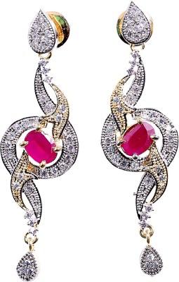 Asset Jewels Sparkle Alloy Drop Earring