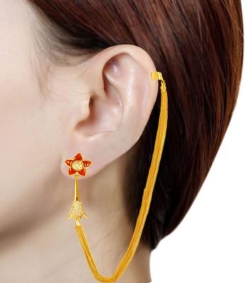 Prisha PPIPLCZER19 Zircon Copper Jhumki Earring