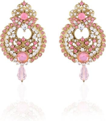 I Jewels Stone Alloy Drop Earring
