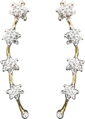 Vijay Laxmi Jewels Cubic Zirconia Alloy Cuff Earring