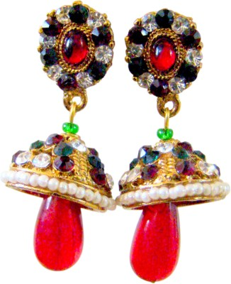 Store Utsav Cherub Shy Zircon Alloy Jhumki Earring