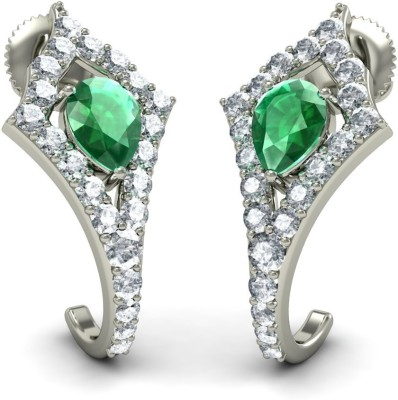 Joyra Marvelous Swarovski Zirconia Sterling Silver Drop Earring