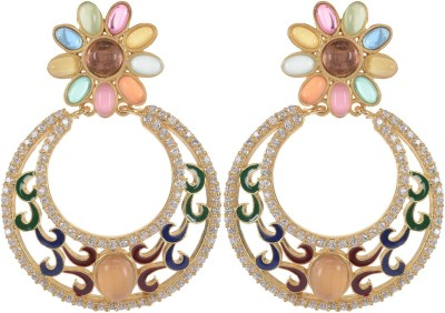 Ushasree all season Alloy Chandbali Earring