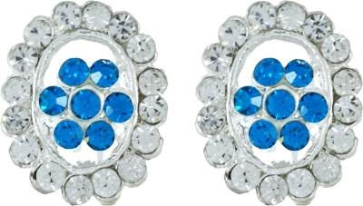 Suvini Color Spark Crystal Alloy Stud Earring