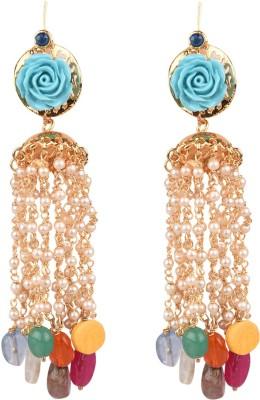 The Kewl Korner Fashion Earrings Brass Tassel Earring
