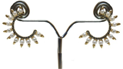 SareesHut EAR4 Cubic Zirconia Alloy, Stone Cuff Earring