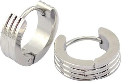 Vaishnavi Mini Size Stainless Steel Huggie Earring