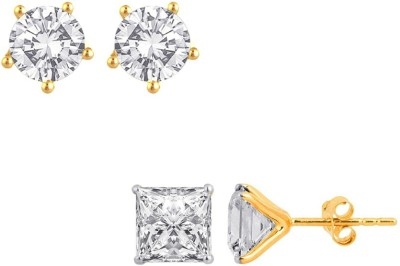Jewels Galaxy Precious Collection AD JGR556 Alloy Earring Set