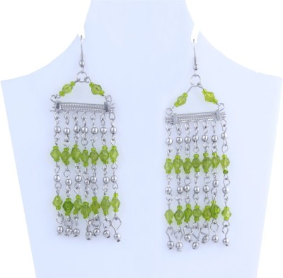 WOAP Handicraft Metal Dangle Earring, Drop Earring